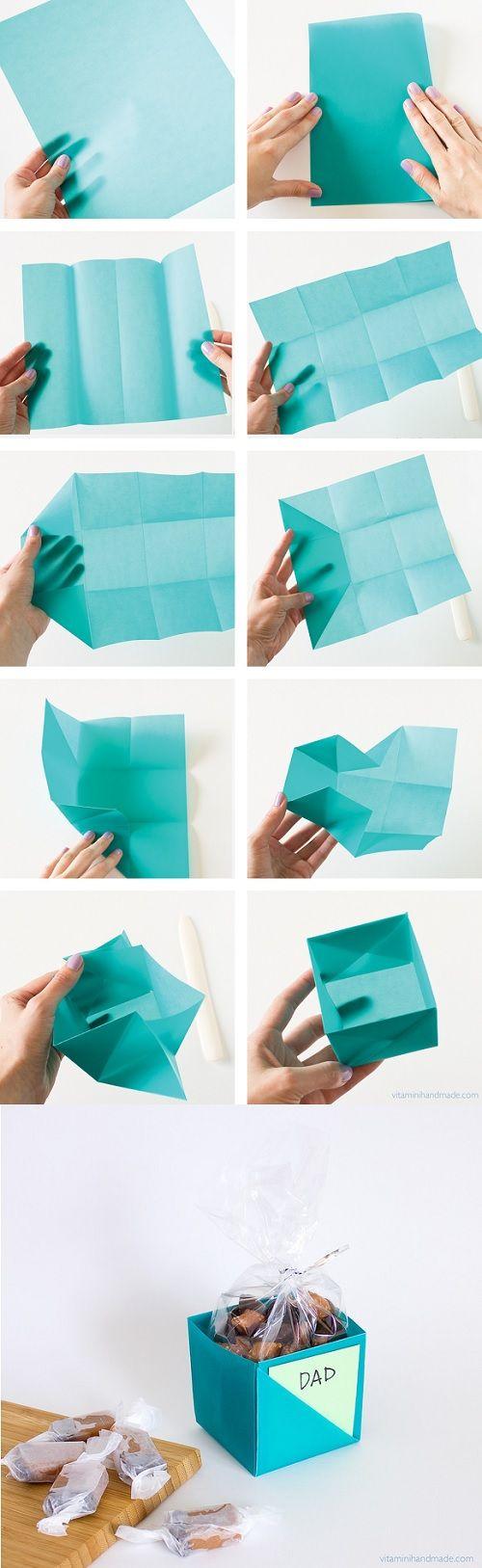 D.I.Y. กล่องกระดาษสุดมหัศจรรย์